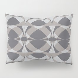 Surfboards in Gray Pillow Sham