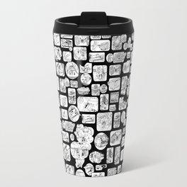 Black and White Kenner Travel Mug