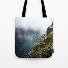 Rocky Cliff Face Tote Bag