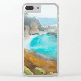 Big Sur Clear iPhone Case