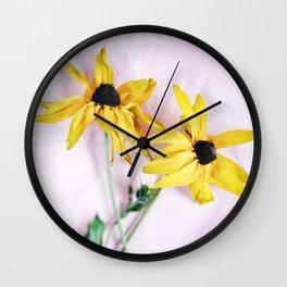 Tender bouquet Wall Clock