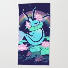 April Shower Beach Towel