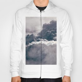 Heavy Thunder Clouds - Spectacular Aerial Photography Hoody