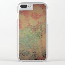 Papaveri Clear iPhone Case