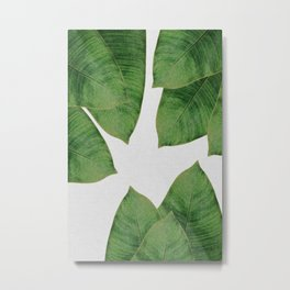 Banana Leaf I Metal Print