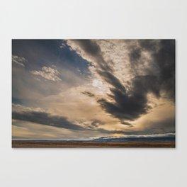 Big Sky, I miss you. Canvas Print