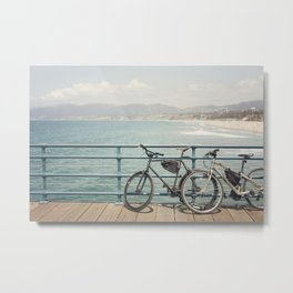 La Vida California Metal Print