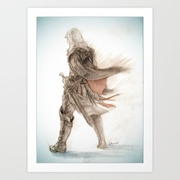-Assassin 1476- Art Print