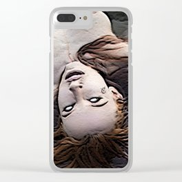 Salem Witch Dead In the Water Clear iPhone Case