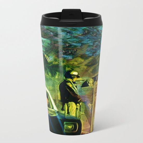 A Nightly Pull Over:The Casual Affair Metal Travel Mug