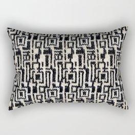 Maze Knit Rectangular Pillow