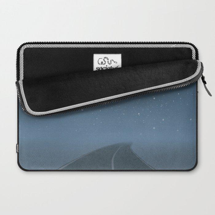 "Jack Kerouac ""On the Road"" - Minimalist literary art design, bookish gift Laptop Sleeve"