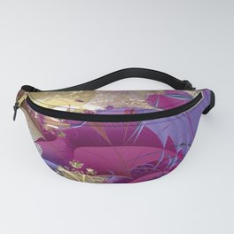 Feelings of being in love -- Fractal illustration Fanny Pack