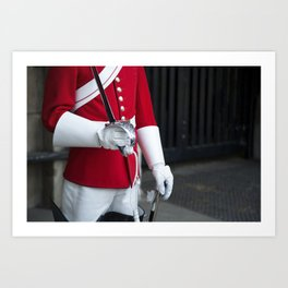 Royal Cavalry Art Print