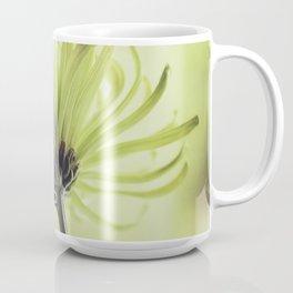 shades of green spider mum Coffee Mug