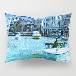 Venice Rialto Bridge and Canale Grande Pillow Sham