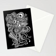 Hidden Dragon Zentange Stationery Cards