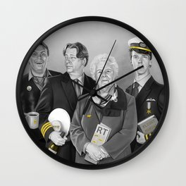 Cabin Crew Wall Clock