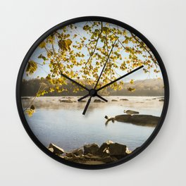 Sunrise On The Potomac (film) Wall Clock