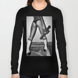 B is for Blaster (Not Booty) Long Sleeve T-shirt