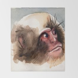 Macaco Throw Blanket