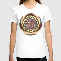 gucci T-shirts featuring Energy 7 by JuanAndresChacin