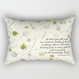 Colossians 1:10 Rectangular Pillow