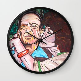 Mr. & Mrs. Roper Wall Clock