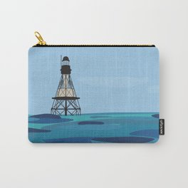 Fowey Rocks Lighthouse Carry-All Pouch