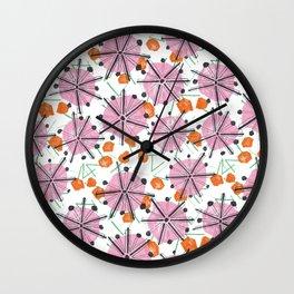 Umbrella Tops Wall Clock