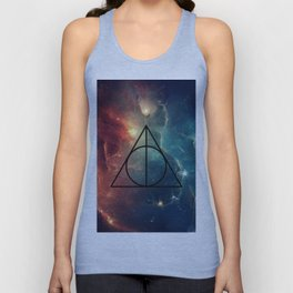 Deathly Hallows Cosmos HP Unisex Tank Top