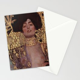 Judith I - Gustav Klimt Stationery Cards