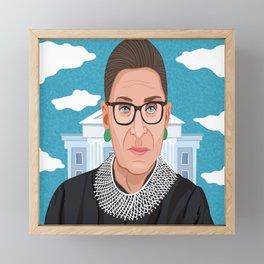 Ruth Bader Ginsburg Notorious RBG Framed Mini Art Print