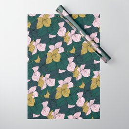 Jungle Floral Wrapping Paper