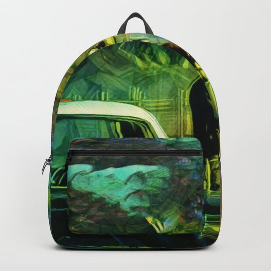 A Nightly Pull Over:The Casual Affair Backpack