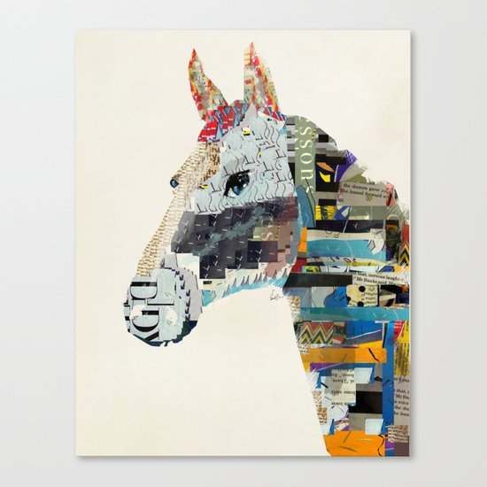 the mod horse Canvas Print