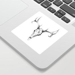 Deer Skull in Pencil Sticker