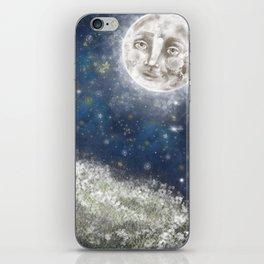 Bright Starry Night iPhone Skin