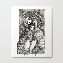 Harpy sisters Metal Print