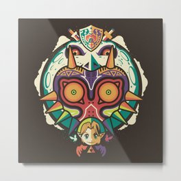 A Terrible Fate Metal Print
