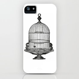 Bird cage iPhone Case