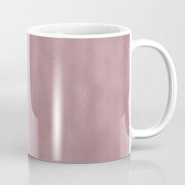 Mottled Vintage Blush Foil Coffee Mug