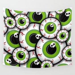 Eyeballs Wall Tapestry