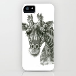 The giraffe G2012-049 iPhone Case