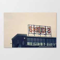 Morning Market Canvas Print
