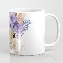 Little bunny in Wreath Coffee Mug