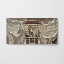 Midnight Circus: tickets Metal Print