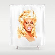 RuPaul - Supermodel - Pop Art Shower Curtain