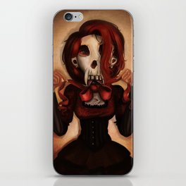 Skull Theatre iPhone Skin