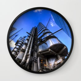 Lloyd's and Willis Group and Cheese Grater London Wall Clock